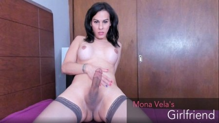 Mona Vela - My girlfriend have a big cock