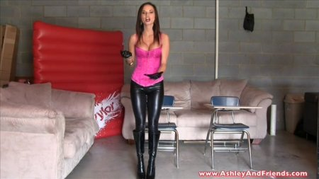 Bratty Ashley Sinclair : Detention Strap On